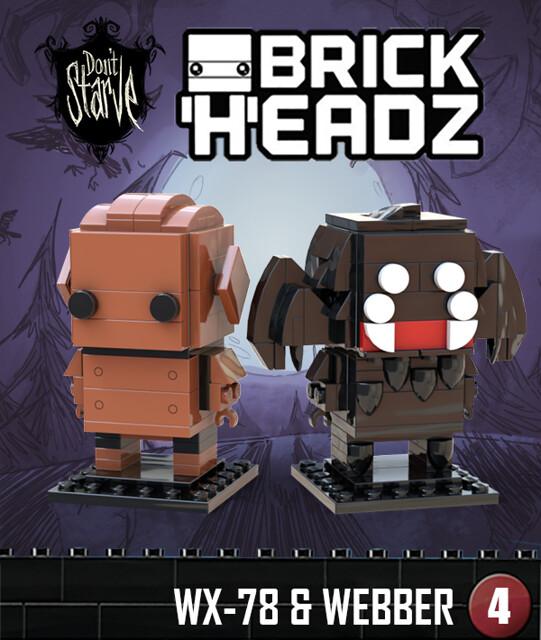 DS Brickheadz - WX-78 & Webber