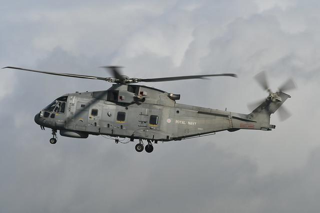 ZH828 Agusta Westland EH101 Merlin HM.2 EGPK 12-10-19