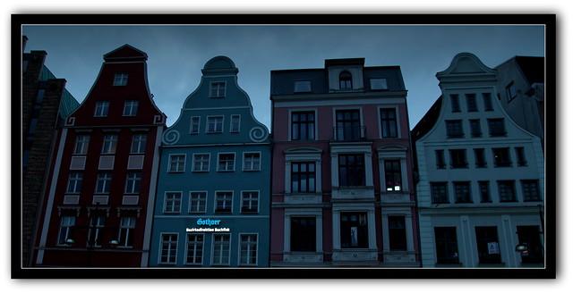 Altstadt in Rostock