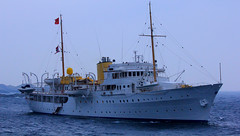 The Norwegien Royal Yacht - Moskens Norland Country  Norway