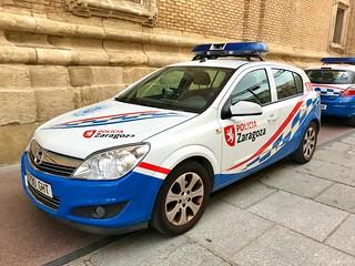 Policía Local de Zaragoza.