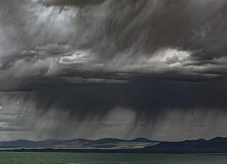 Storm over Mono Lake, California