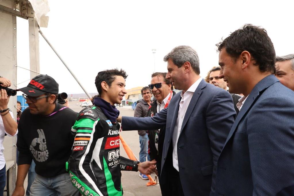 """2019-10-13 PRENSA: Uñac en el Superbike: """"este evento le ha dejado a la provincia 410 millones de pesos"""""""