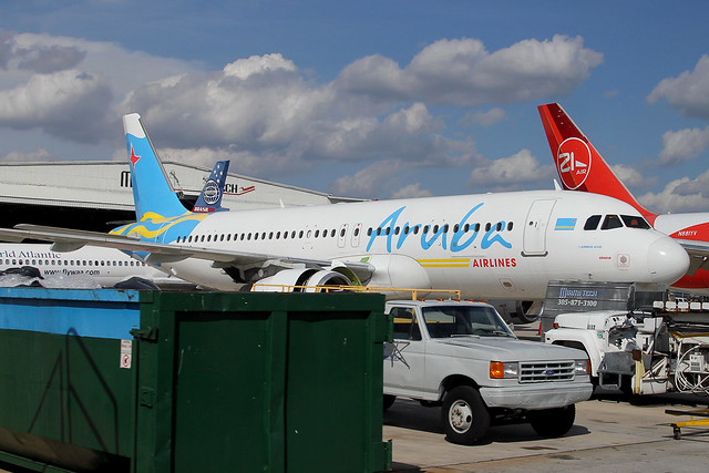 P4-AAA | Airbus A320-232 | Aruba Airlines