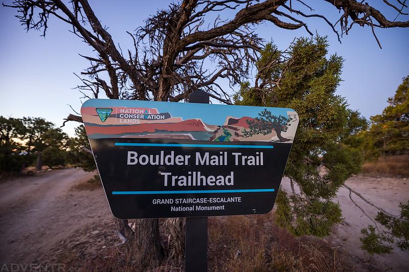 Boulder Mail Trail Trailhead