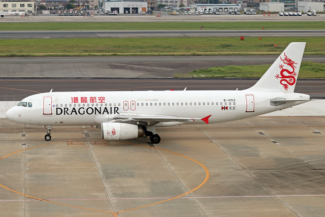 B-HSG  -  Airbus A320-232  -  Cathay Dragon  -  FUK/RJFF 7/10/19
