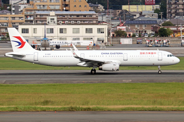 B-1680  -  Airbus A321-231 (SL)  -  China Eastern Airlines  -  FUK/RJFF 07/10/19