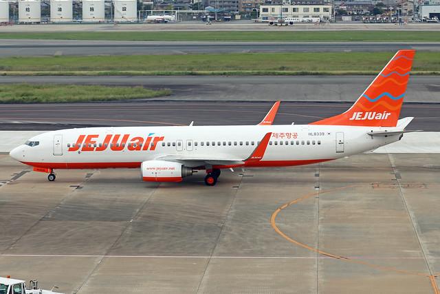 HL8339  -  Boeing 737-82R (WL)  -  Jeju Air  -  FUK/RJFF 7/10/19