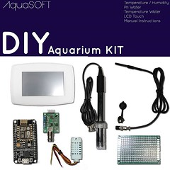 Kit Aquarium DIY 149,99€ - Only assembly the kit. - It's programming - It's possible personalized background #fishtank #diy #kitdiy