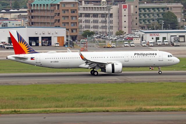 RP-C9934  -  Airbus A321-271N  -  Philippenes Airlines  -  FUK/RJFF 7/10/19