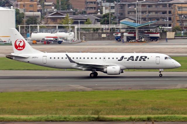 JA251J  -  Embraer ERJ-190STD  -  J-Air  -  FUK/RJFF 7/10/19