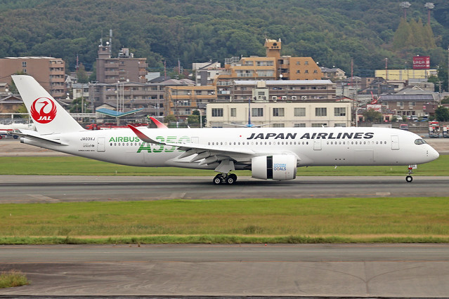 JA03XJ  -  Airbus A350-941  -  Japan Airlines  -  FUK/RJFF 7/10/19