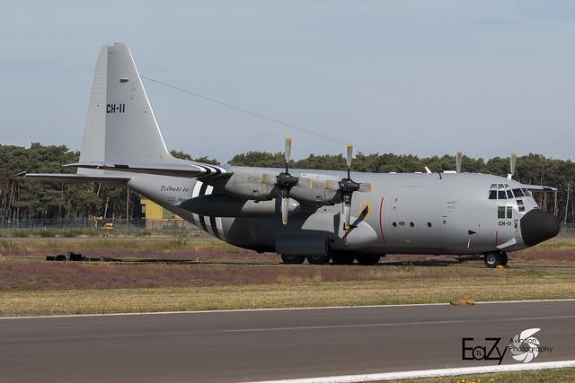 CH-11 Belgium Air Force Lockheed C-130H Hercules