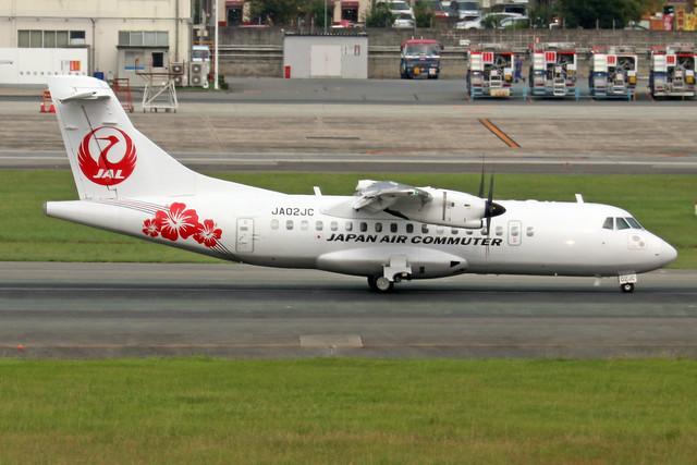 JA02JC  -  ATR 42-600  -  Japan Air Commuter  -  FUK/RJFF 7/10/19
