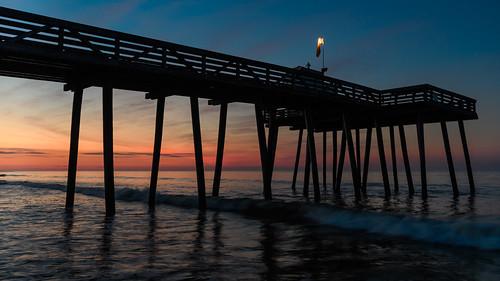 oceancity oceancitynj fishingpier sunrise dawn newjersey jerseyshore