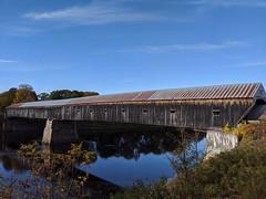 Cornish Windsor covered bridge between Vermont and New Hampshire