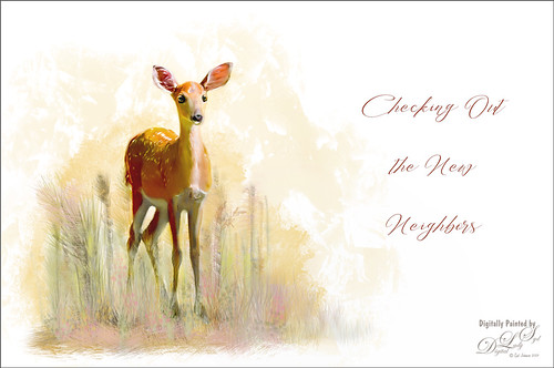 Image of a painted deer