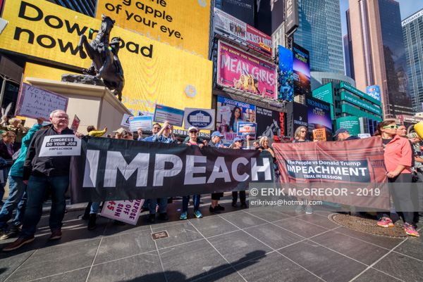 "Hundreds of Activists demand Congress to ""Impeach Now"""