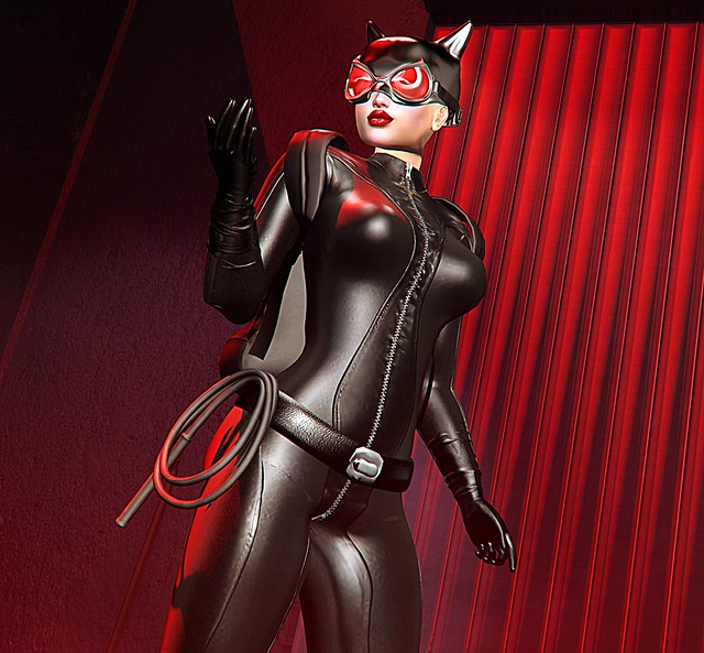 Catwoman Prowls