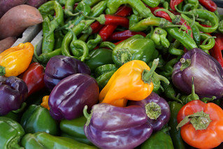 Muli-colored Bell Peppers