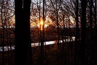 285/365 Autumn Sunset