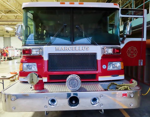 marcellusny marcellusfd fire firefighter fireengine apparatus emergency firedepartment pumper