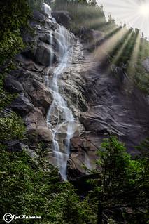 Shanon Falls Provincial Park, Squamish, BC, Canada