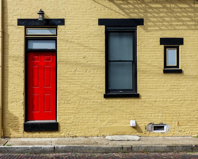 Red Door & Windows