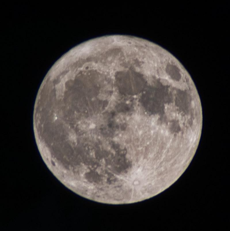 Full Moon, Oct. 13th 2019, 22:24 h