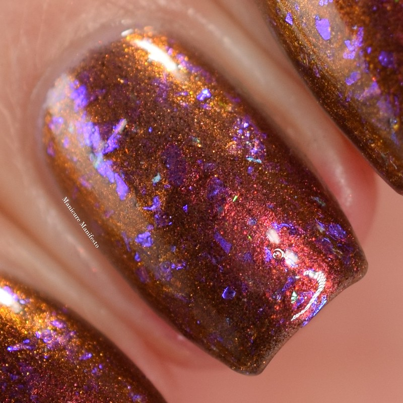 Girly Bits Pumpkin Sumthin' swatch