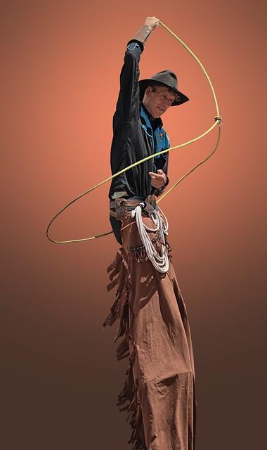 Lasso Tall Cowboy