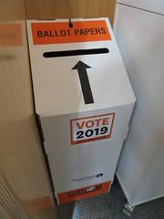 Ballot box, Matuku Takotako: Sumner Centre
