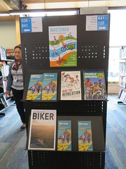 Biketober display, Matuku Takotako: Sumner Centre