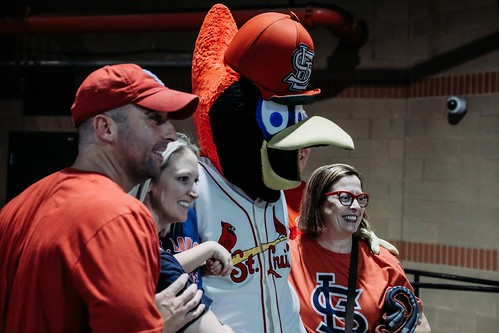 Fredbird Meets the Fans