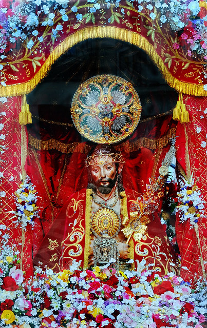 'Ecco Homo,' Culto do Senhor Santo Christo dos Milagres - Punta Delgado, Island of Sao Miguel, The Azores, Portugal