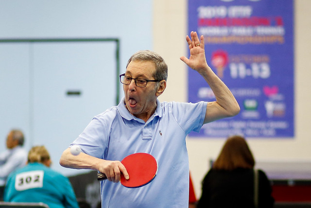Day 3 - 2019 ITTF Parkinson's World Championships