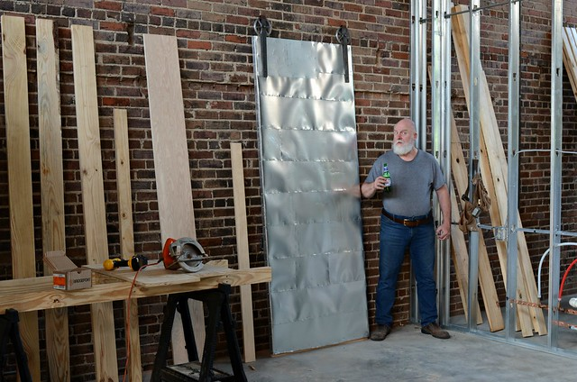 The Eight Foot Bedroom Door