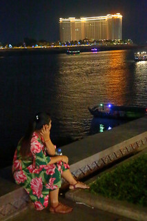 Down By The Mekong At Night