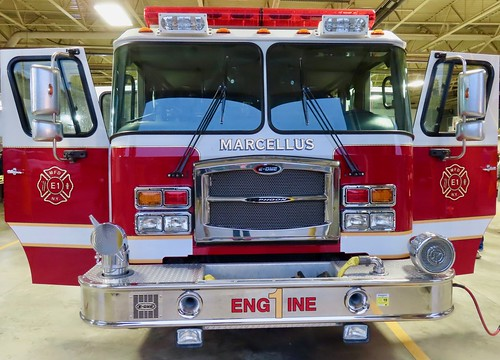 marcellusny marcellusfd fire firefighter fireengine apparatus emergency firedepartment pumper eone
