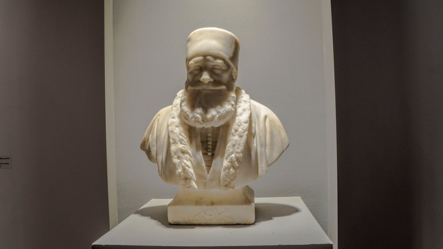 Mohamed Ali Pasha's Marble bust