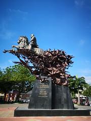 Monumento a Eloy Alfaro - Portoviejo, Manabí