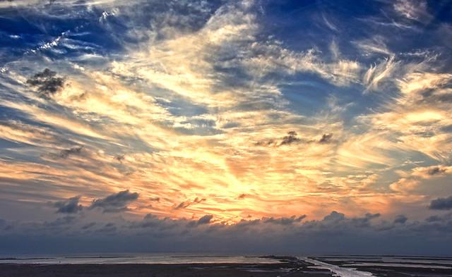 Sunset Over Corpus Christi Bay