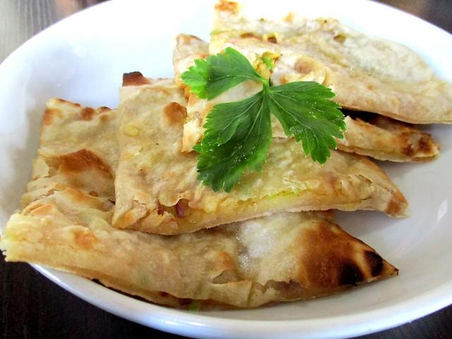 The Cafe Ind tandoori aloo naan