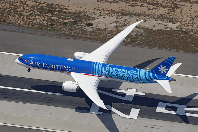 F-ONUI, Boeing 787-9, Air Tahiti Nui, Los Angeles
