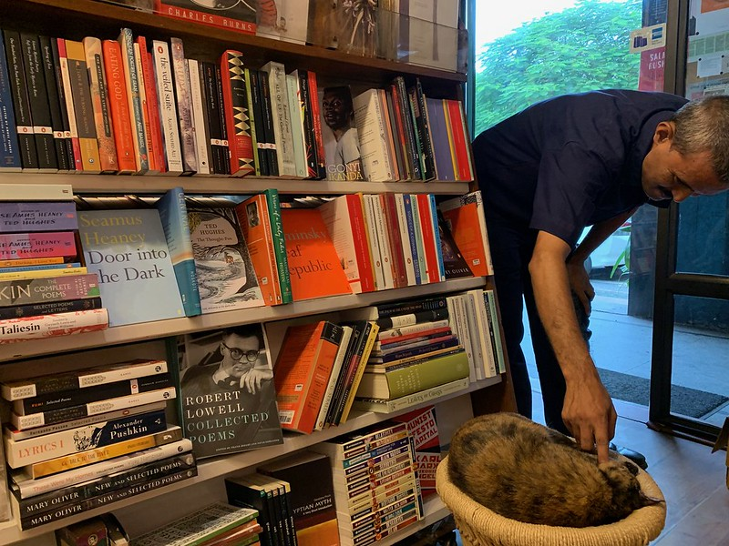 City Hangout - Best English Language Poetry Shelf, The Book Shop, Jor Bagh Market