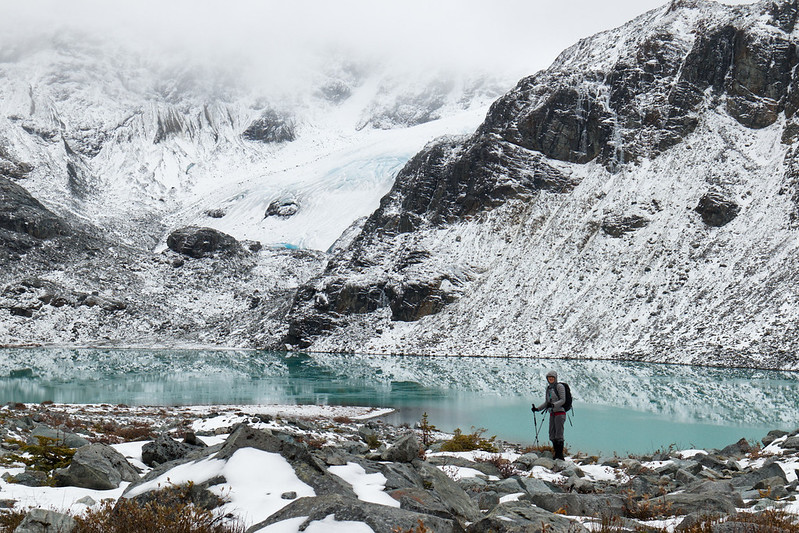 Wedgemount Lake, 12 Oct 2019