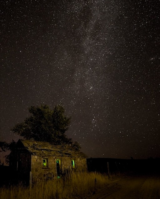 Milky Way Abandoned House 6793 A
