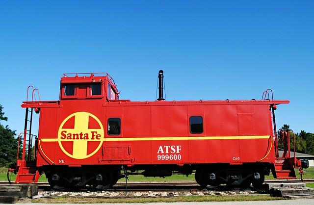Atchison, Topeka and Santa Fe Railway Caboose - Avoca, Wisconsin