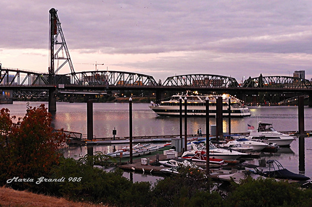 Series: Bridges, Boats and Ships in Portland - N5