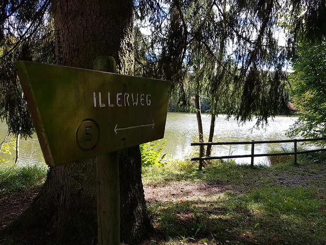 Oktober am Fluss Iller